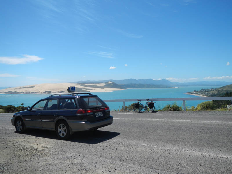 Cruisen langs de westkust van NZ (Hokianga Harbour)